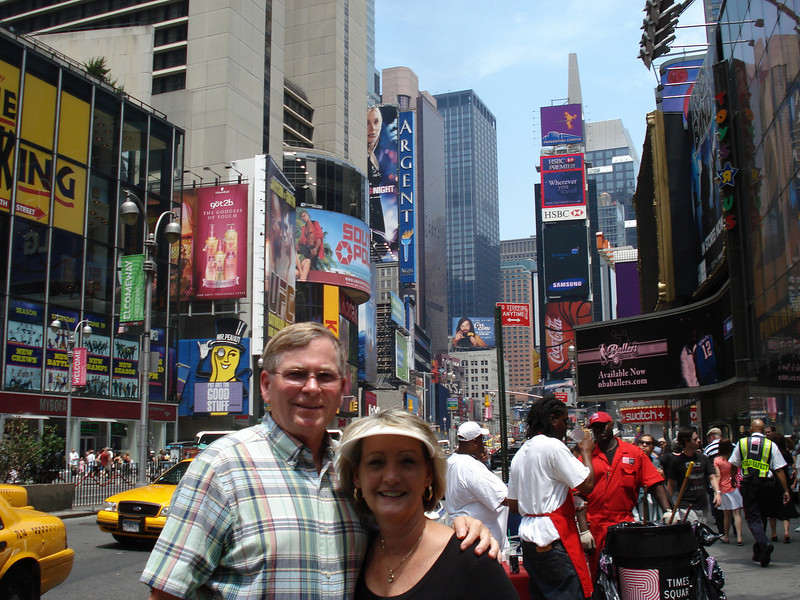 Raye & Joe at Times Square!!