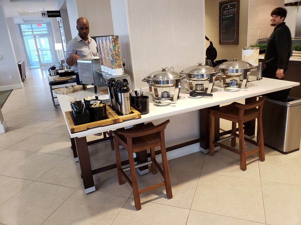 Breakfast Buffet at the Hilton Garden Inn