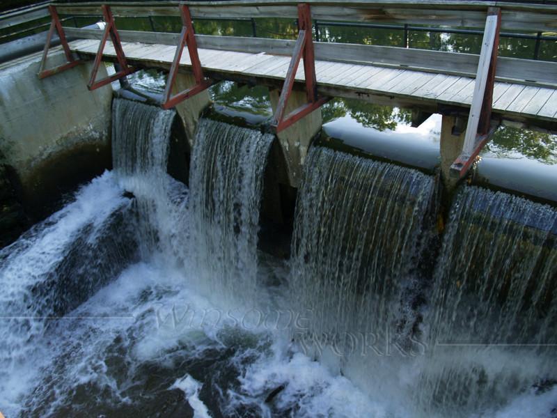 Locks near Lambertville on Delaware Canal-- Delaware and Raritan Canals State Park