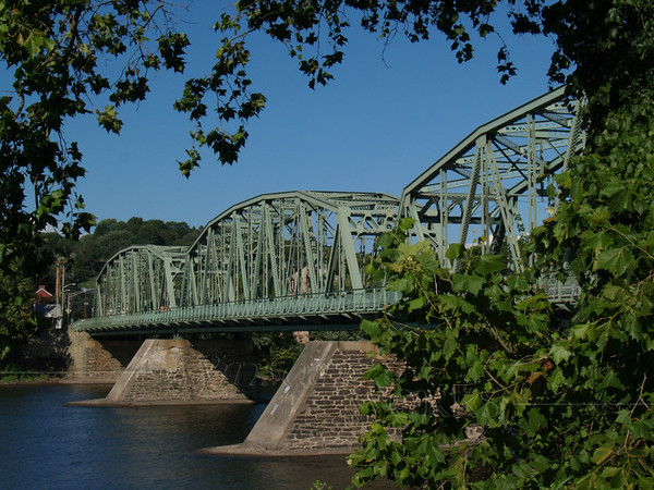 Milford - Upper Black Eddy Bridge over Delaware