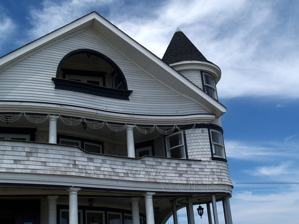 Front View of one of my favorite Ocean Grove Houses
