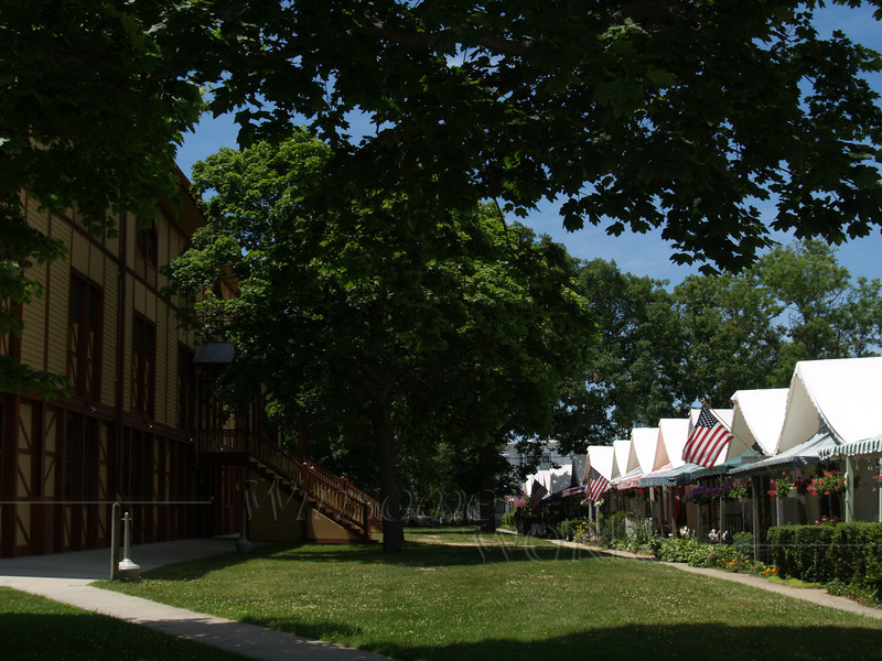 Tent Houses and Great Auditorium