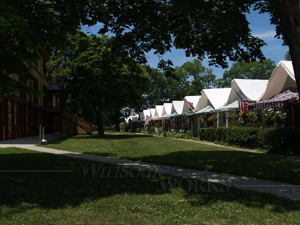 """""""Tent Houses"""" & Great Auditorium"""