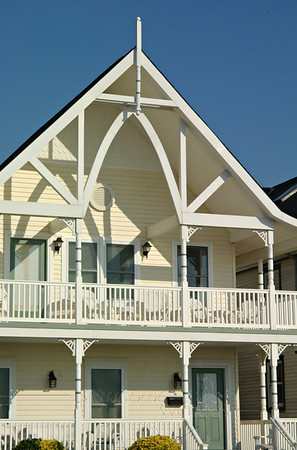 Oceanfront Victorian revival home