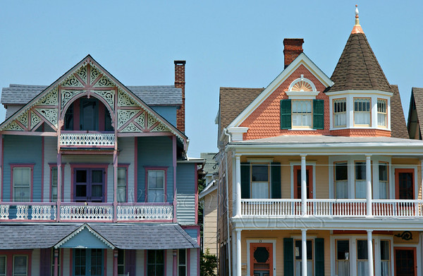 Gingerbread houses, Ocean Grove NJ   [Edit PM - LtStSh]