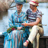 Sailing the Seine<br /> Seward Johnson<br /> This work is inspired by Edouard Manet's painting, 'Argenteuil' (1874).