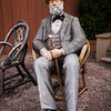 If It Were Time<br /> Seward Johnson<br /> 'If It Were Time', is based on Claude Monet's painting 'Garden at Sainte-Adresse' (1867).