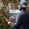 Copyright Violation! <br /> Seward Johnson<br /> based on the Claude Monet painting, 'Terrace Ste Adresse'