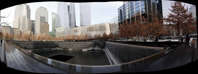 WTC South Tower Memorial Pool