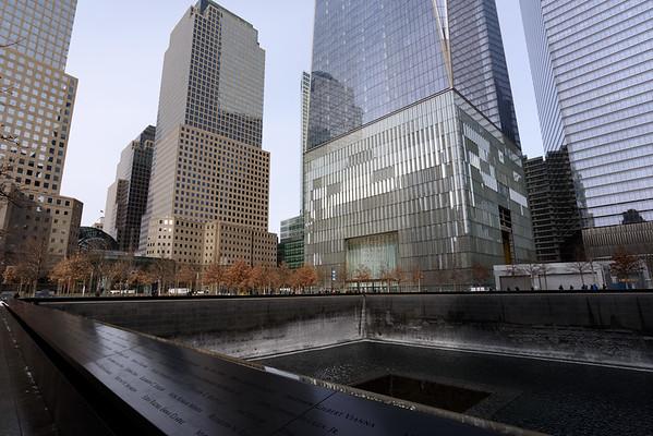 North Tower Memorial Pool