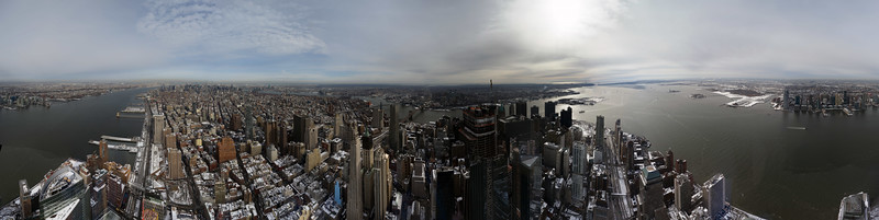 One World Trade Center 360° Panorama