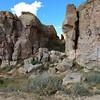 Back at the base of the mesa.