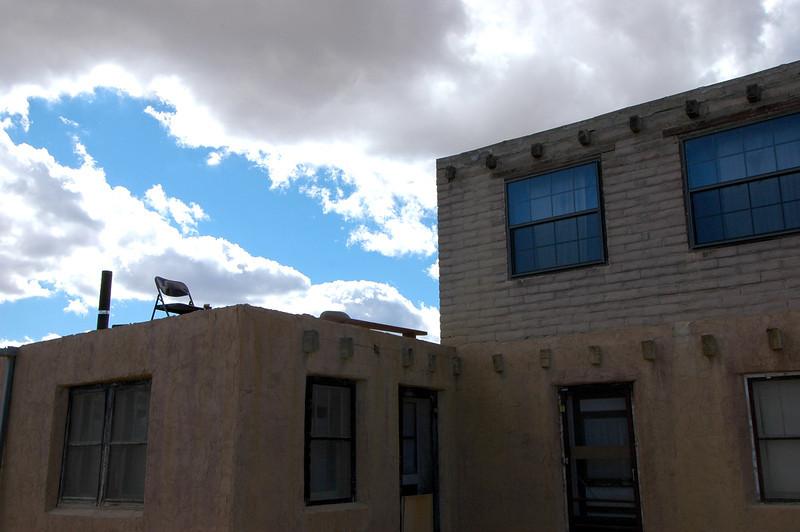 New Mexico stoop.