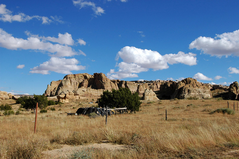 Got to take a side trip with Bene and some other MSK editors. Acoma pueblo sits atop the mesa.