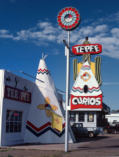 Another roadside attraction, Route 66, Tucumcari, New Mexico