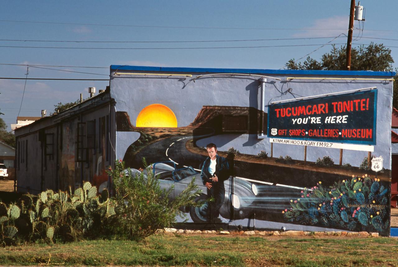 Roadside attraction, Route 66, Tucumcari, New Mexico.