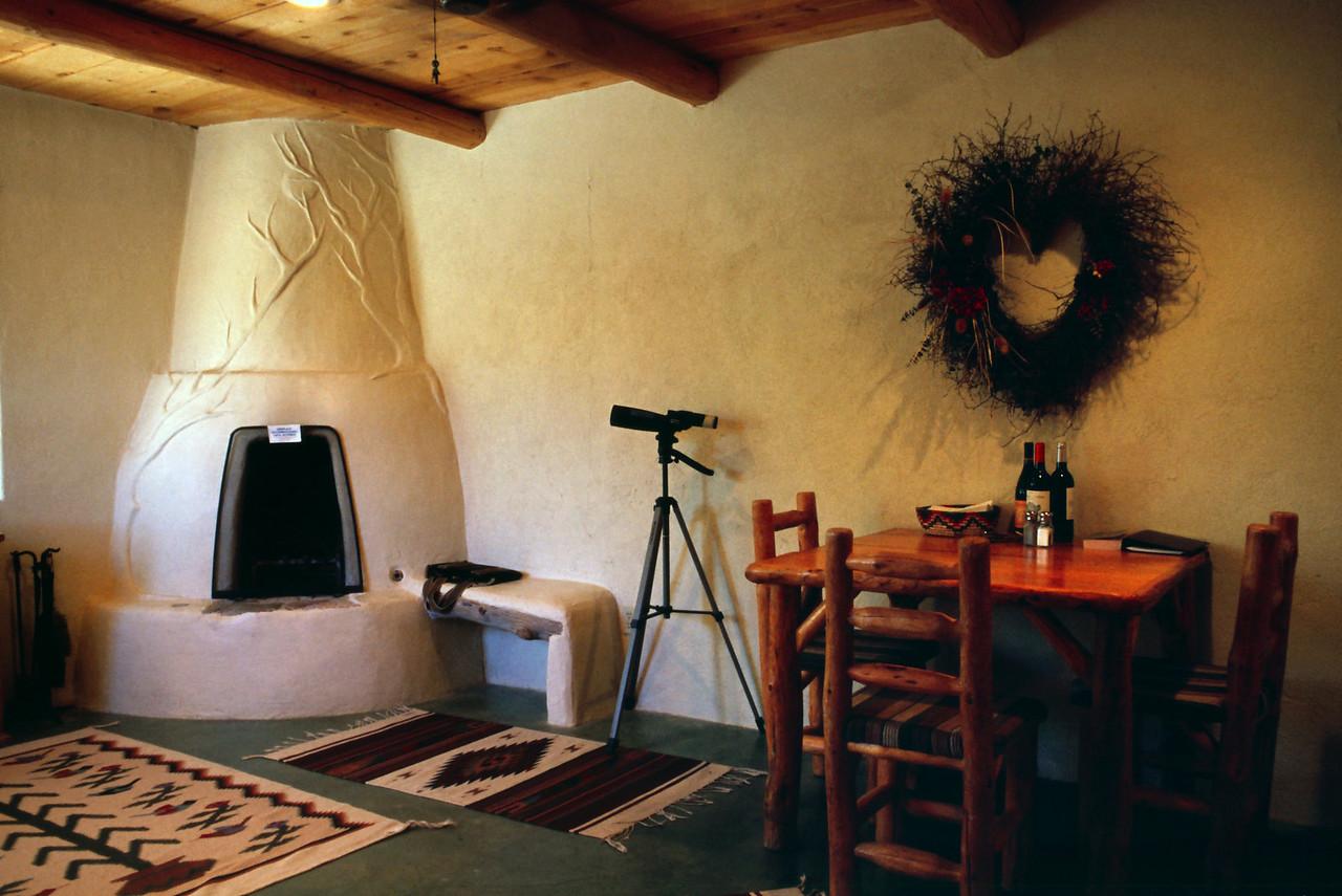 Interior shot of our casita.