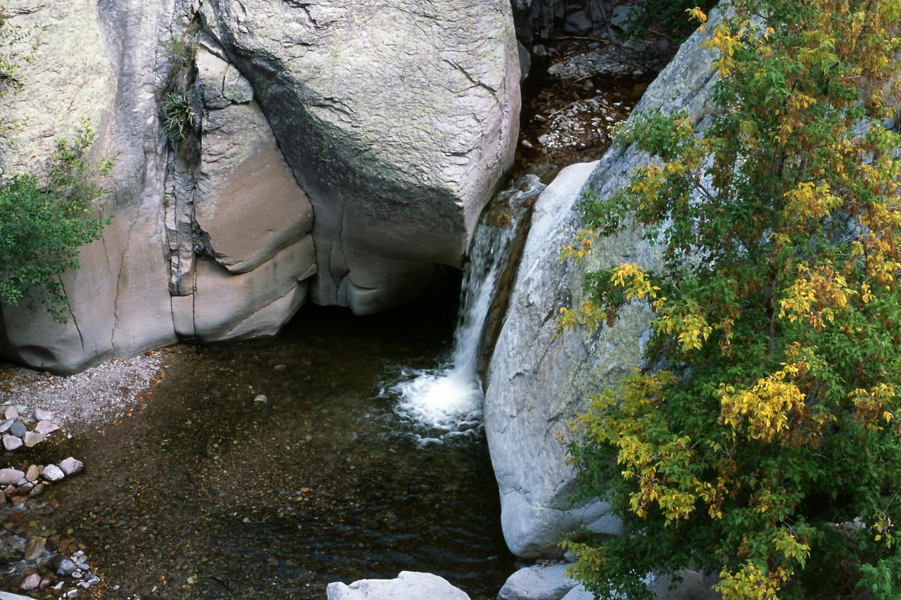 Waterfall on Whitewater creek