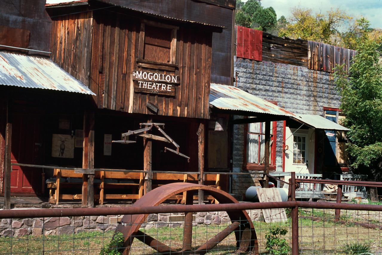 Theatre, Mogollon, New Mexico.