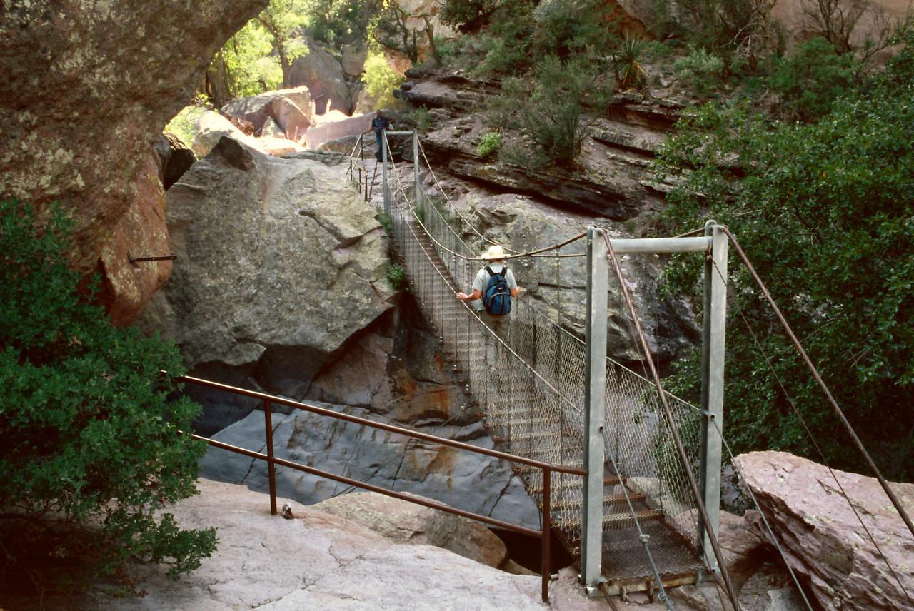 Swinging Bridge, Catwalk National Scenic Trail