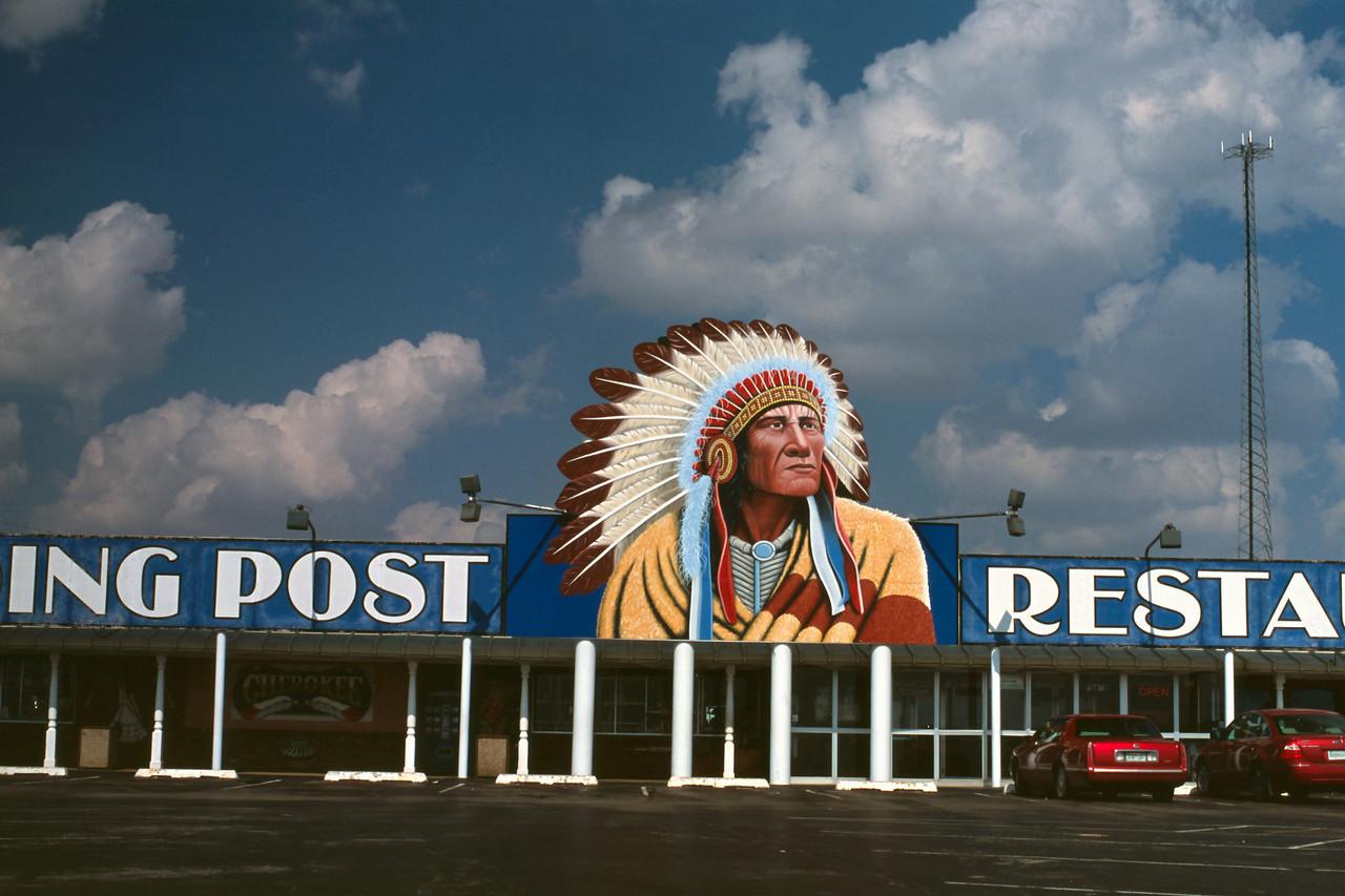 The Cherokee Trading Post, near El Reno, Oklahoma.