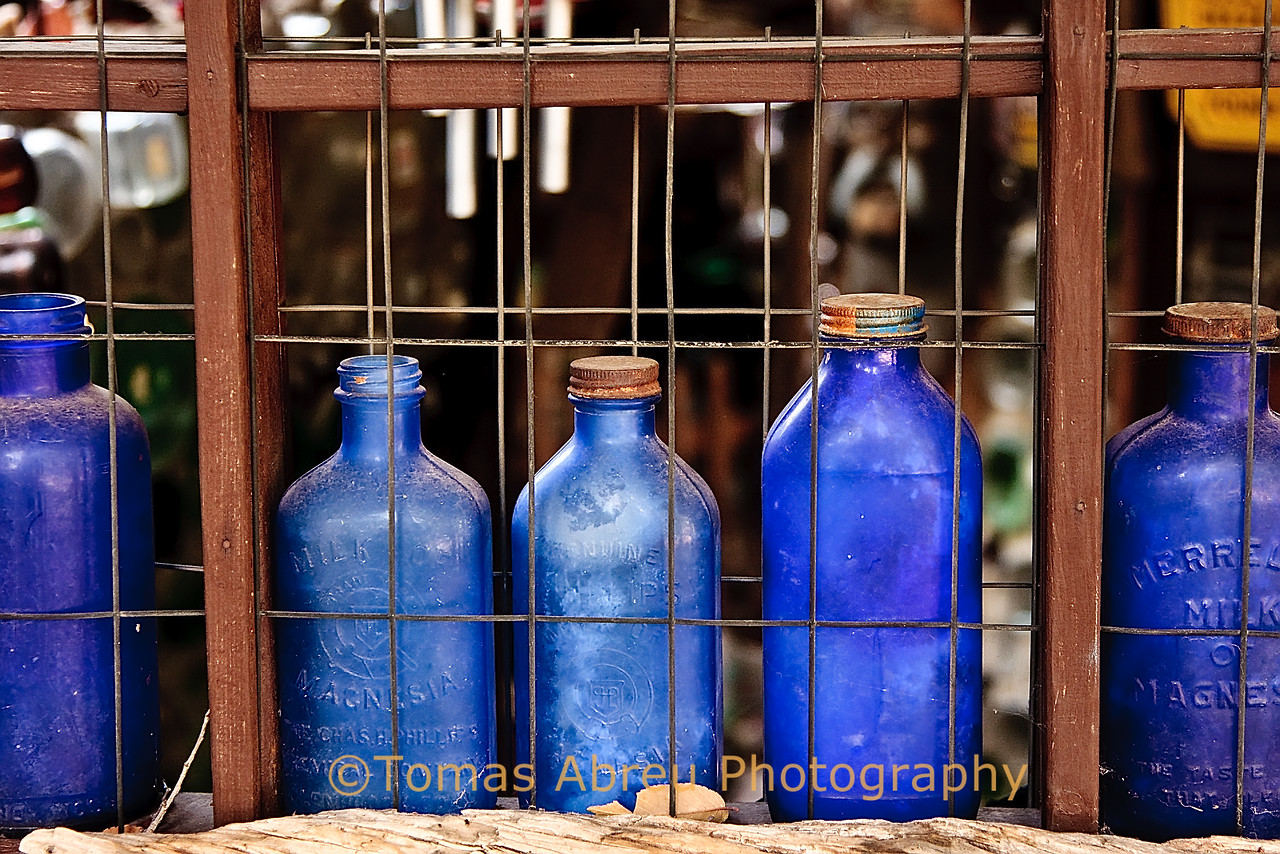 Empty Bottles, Tinkertown, New Mexico