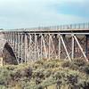 Rio Grande Gorge Bridge near Taos.