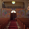 Interior of a Greek Orthodox church in Albuquerque.