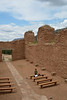 The ruins of a 17th century Spanish mission (San Jose de los Jemez) are there.