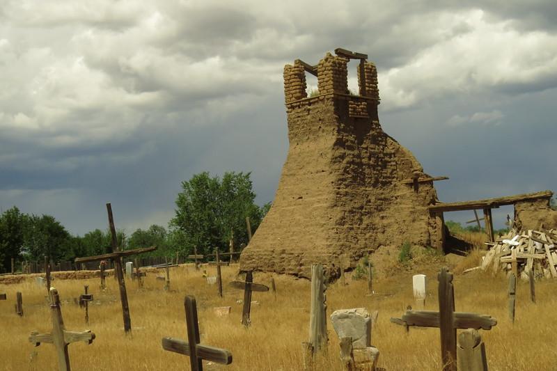 Massacre site at Taos Pueblo church