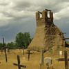 Massacre site at Taos Pueblo church