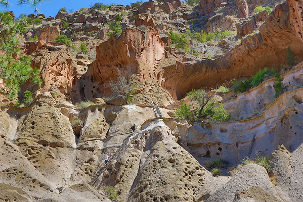 Bandelier National Monument - Ladders