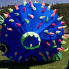A big blow fish kite.  Kids had a great time crawling underneath this kite.
