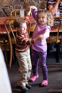 "Madeline and her new ""boyfriend,"" Jackson."