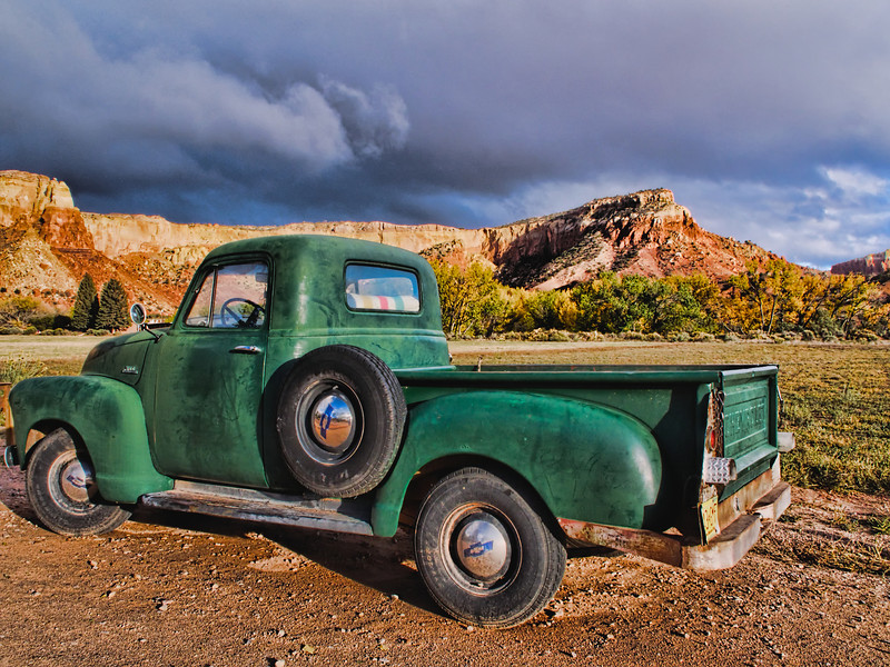 We should age as well as this truck on Ghost Ranch