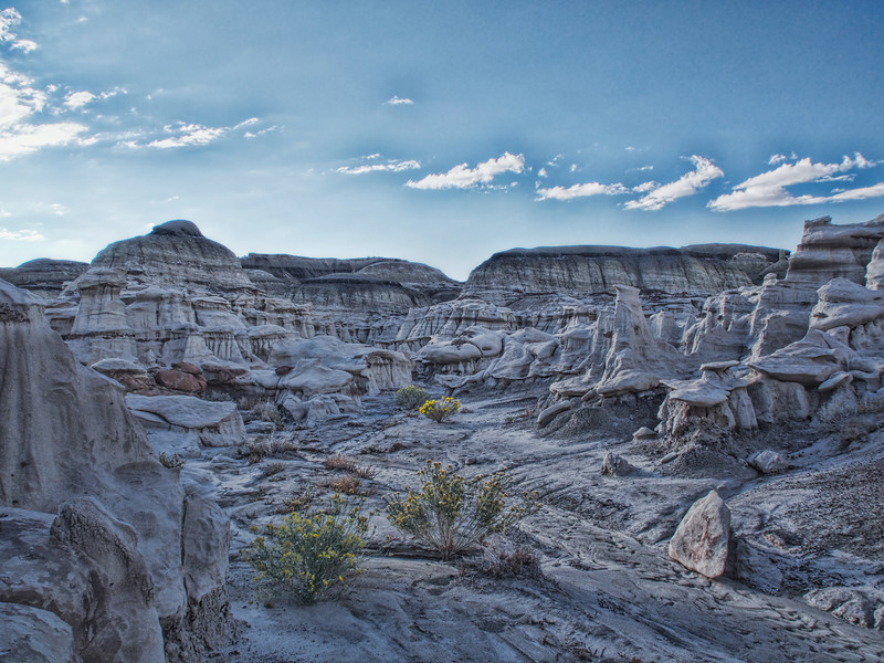 The Bisti Badlands, the Black Place, according to Georgia O'Keefe