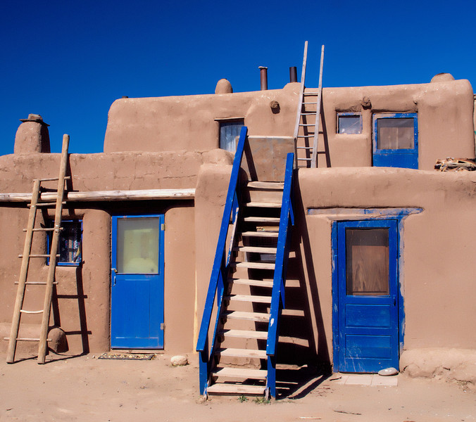 Adobe homes of Taos Pueblo