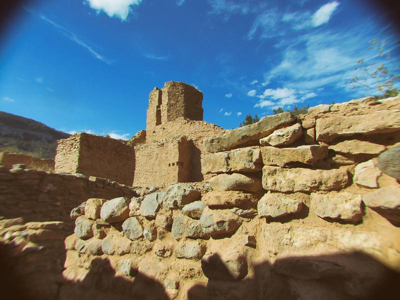 Ruins of another ancient pueblo