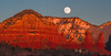 Moonrise over Sedona