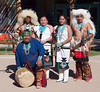 Performers at the Indian Pueblo Cultural Center in Albuquerque.