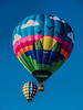 Imagine flying peacefully over a scene as depicted on this beautiful balloon