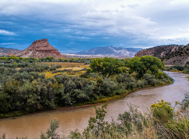 Banks of the Chama River, Abiquiu, NM