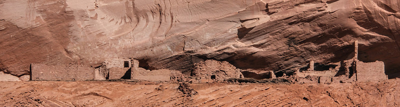 White House ruins, as seen from canyon floor