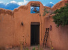 Entrance to old chapel, Ghost Ranch