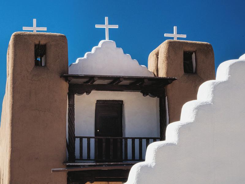 Church at Taos Pueblo, Taos, NM