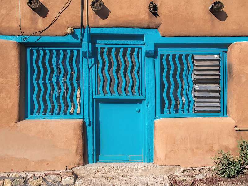 One of many interesting doors