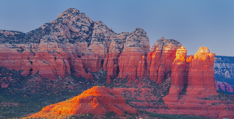 Another detour took us to Sedona, AZ, home to amazing red rock formations.