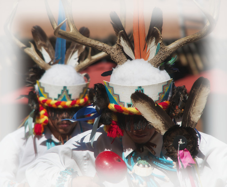 Performing the Elk Dance
