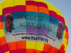 One of the main attractions for us on this trip was the world-famous Albuquerque Balloon Fiesta, the largest of its kind, with about 500 balloons ascending at a time.  This was an incredible, and indescribable, experience...and very difficult to photograph!