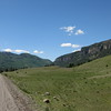 We had 23 miles of gravel road following the Conejos River upstream.